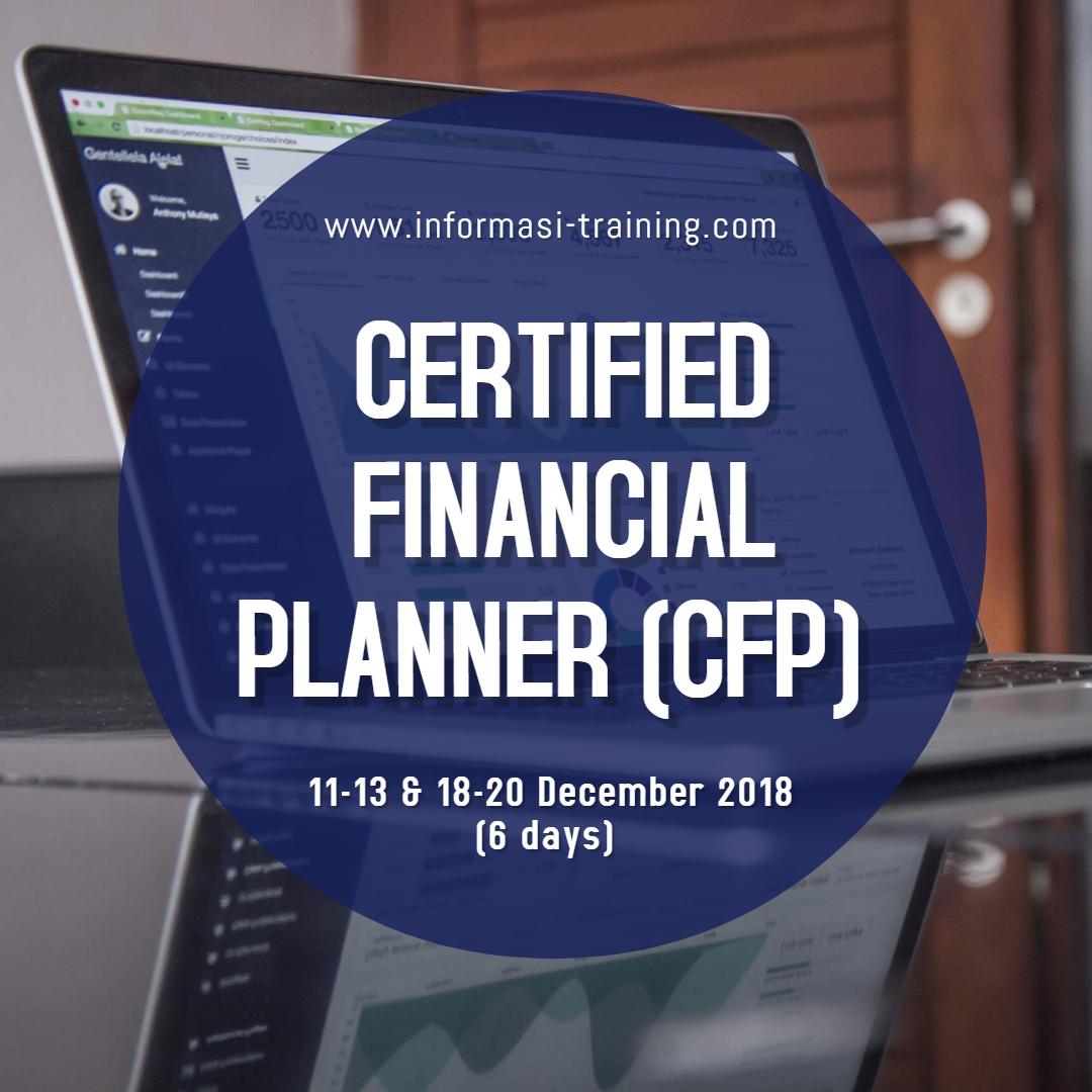 training financial planner