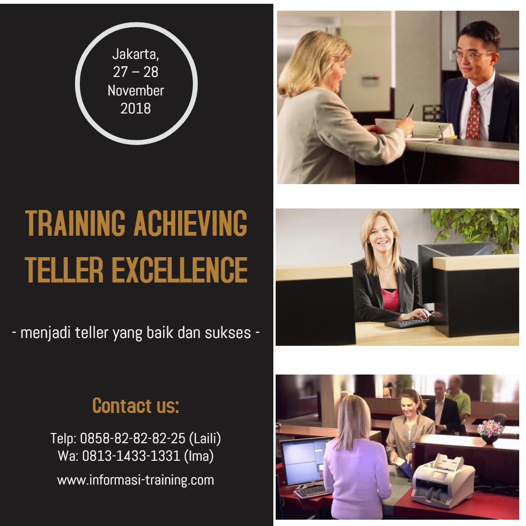 training teller