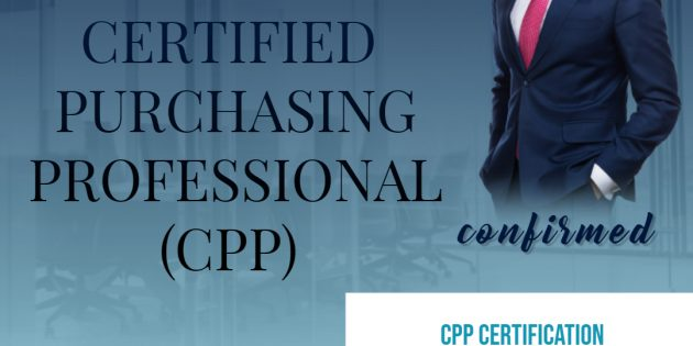 CPP (CERTIFIED PURCHASING PROFESSIONAL) – ALMOST RUNNING