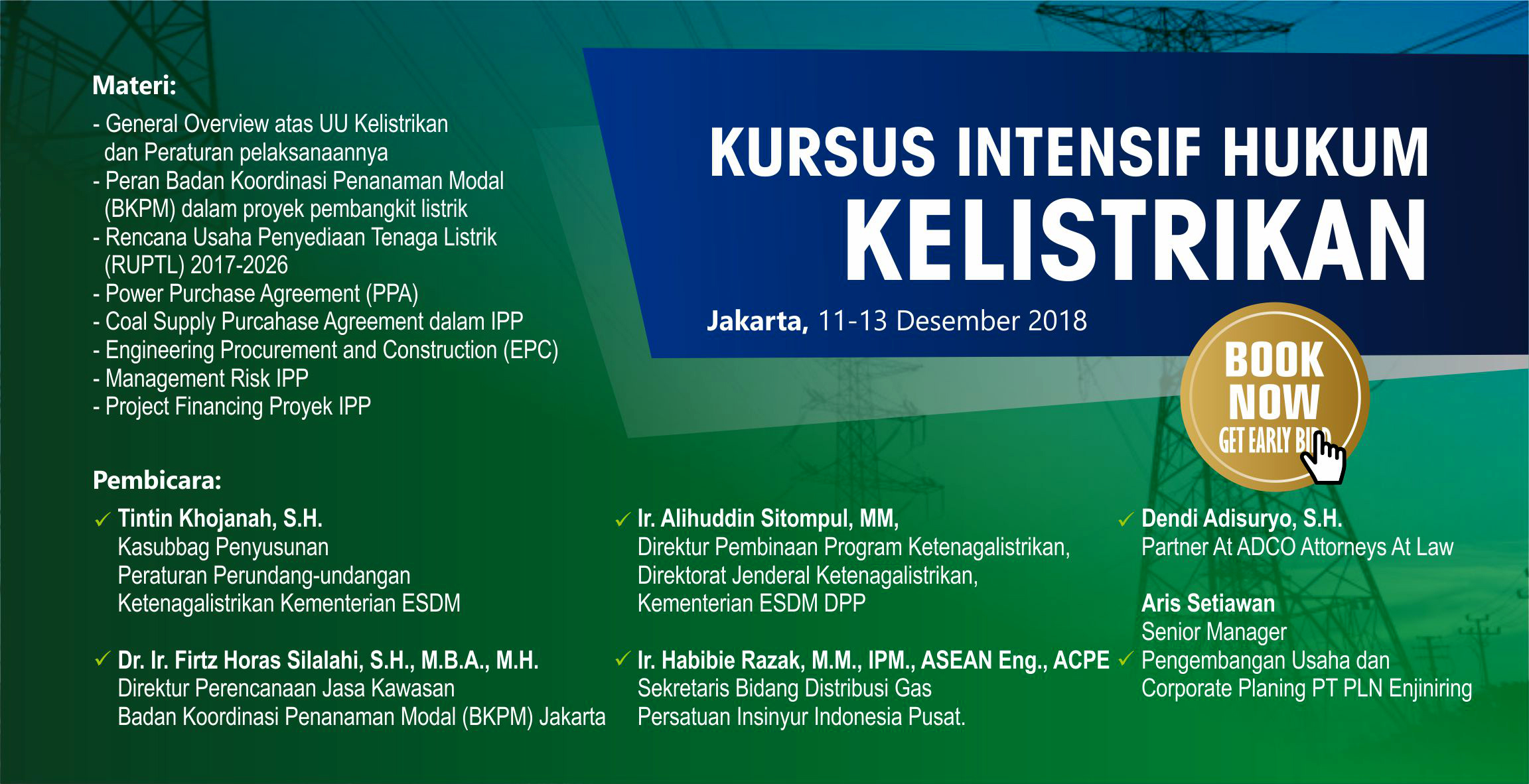 training hukum kelistrikan
