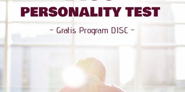 DISC PERSONALITY TEST (Gratis Program DISC) – ALMOST RUNNING