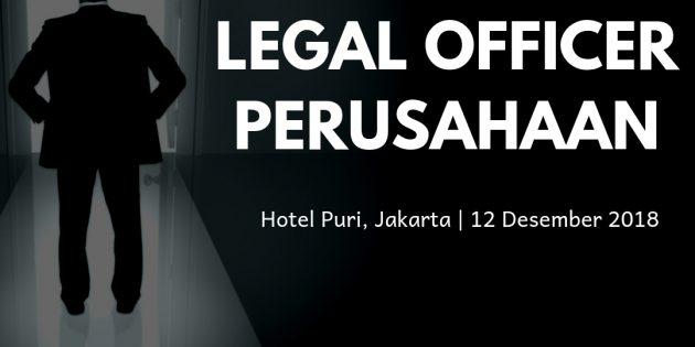 Legal Officer Perusahaan – PASTI JALAN