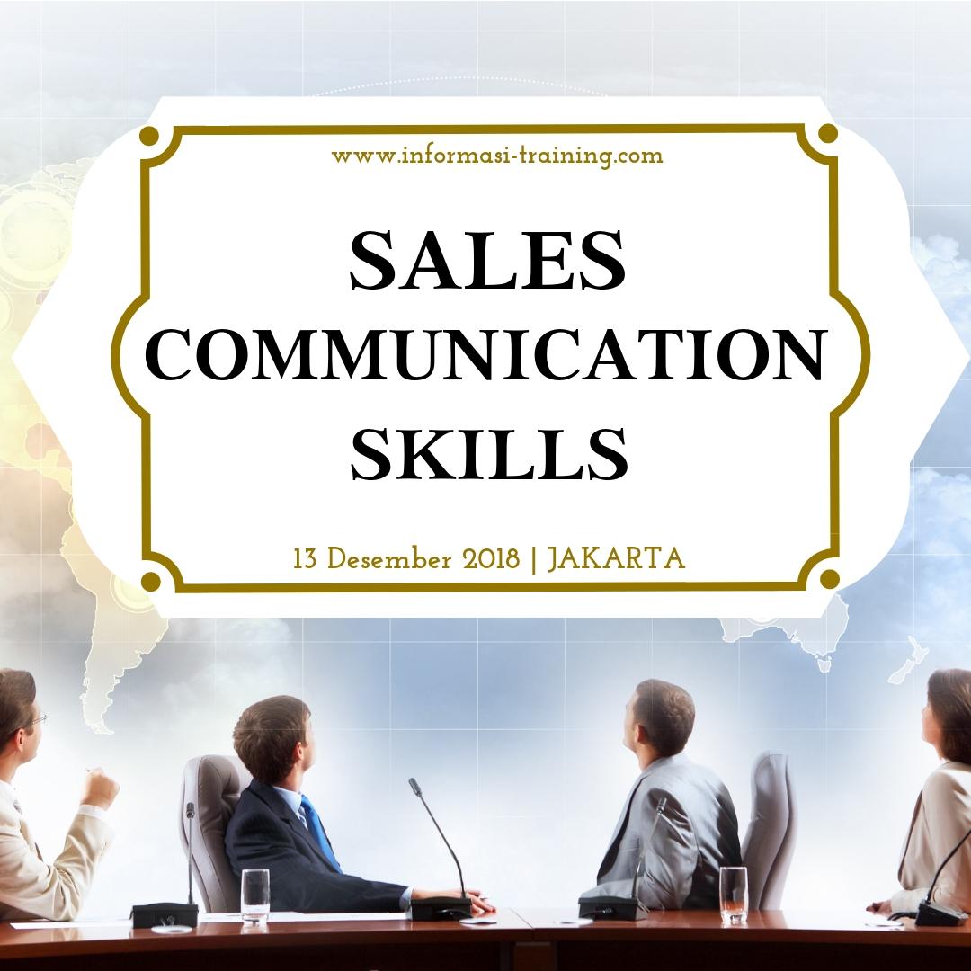 komunikasi penjualan