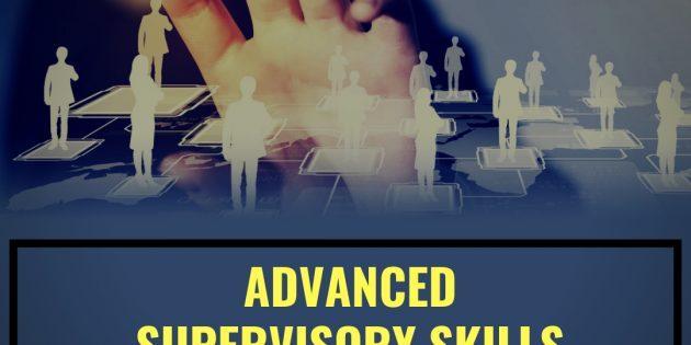 Advanced Supervisory Skills Development – ALMOST RUNNING
