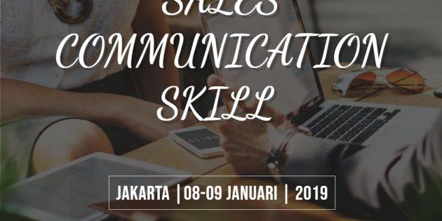 SALES COMMUNICATION SKILL – Almost Running