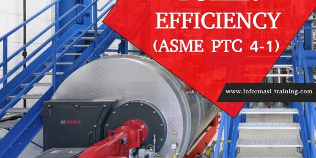 BOILER EFFICIENCY (ASME PTC 4-1)