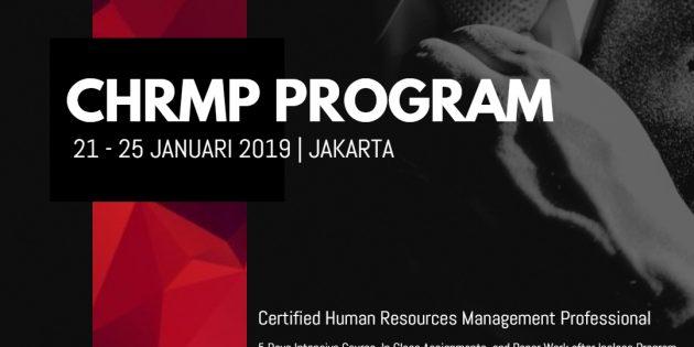 CHRMP: Certified Human Resources Management Professional – PASTI JALAN