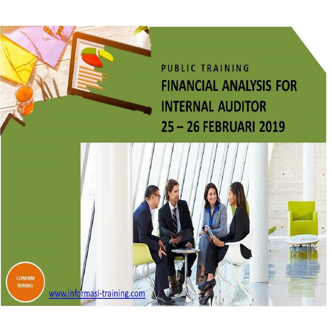 FINANCIAL ANALYSIS FOR INTERNAL AUDITOR – Pasti Jalan