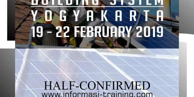 SOLAR PHOTOVOLTAIC BUILDING SYSTEM – Almost Running
