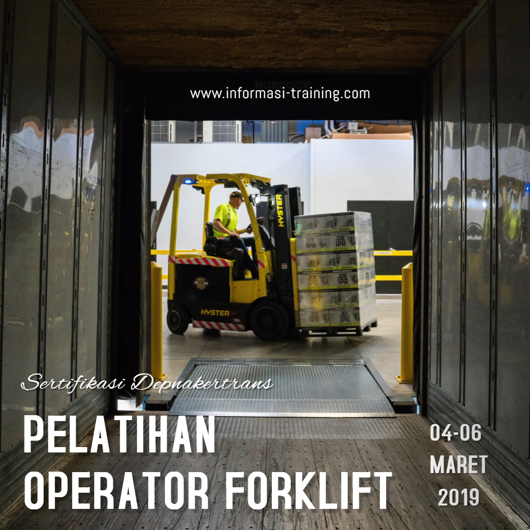 Training forklift