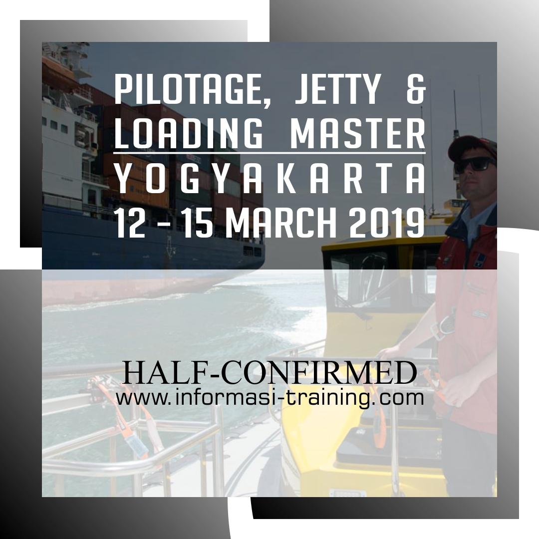 pilotage jetty loading master