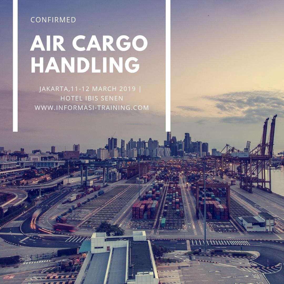 AIR CARGO HANDLING – Pasti Jalan