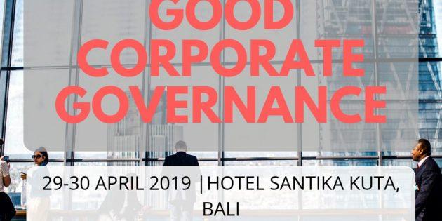 Good Corporate Governance – PASTI JALAN