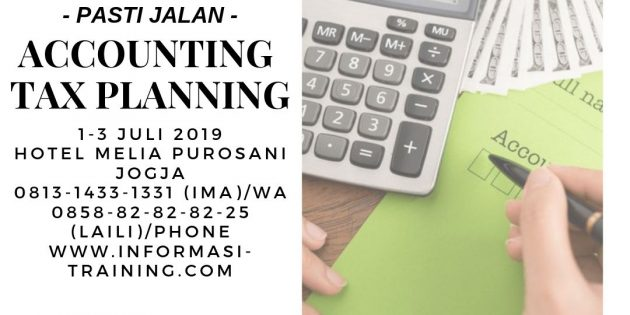 ACCOUNTING AND TAX PLANNING – Pasti Jalan