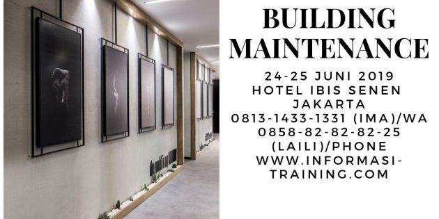 BUILDING MAINTENANCE – Pasti Jalan