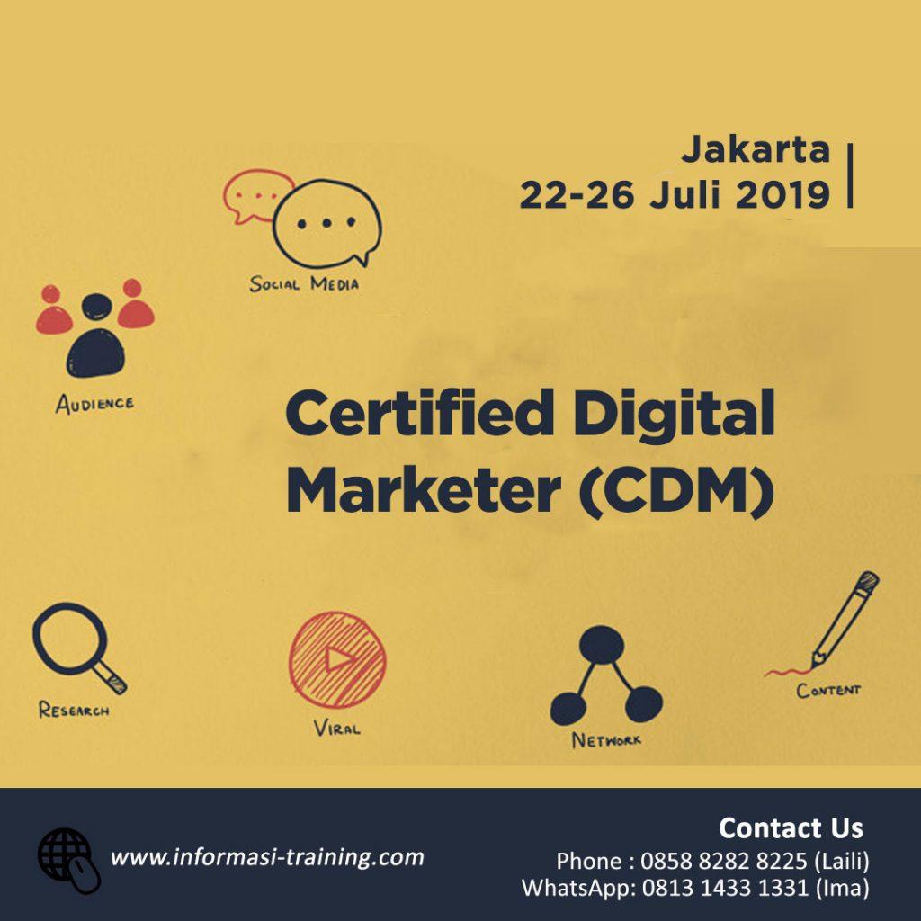 Certified Digital Marketer