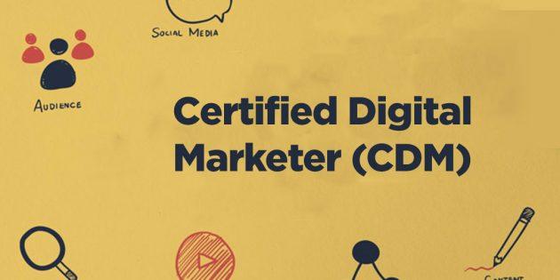 Certified Digital Marketer (CDM) Upgraded From CIMP – ALMOST RUNNING