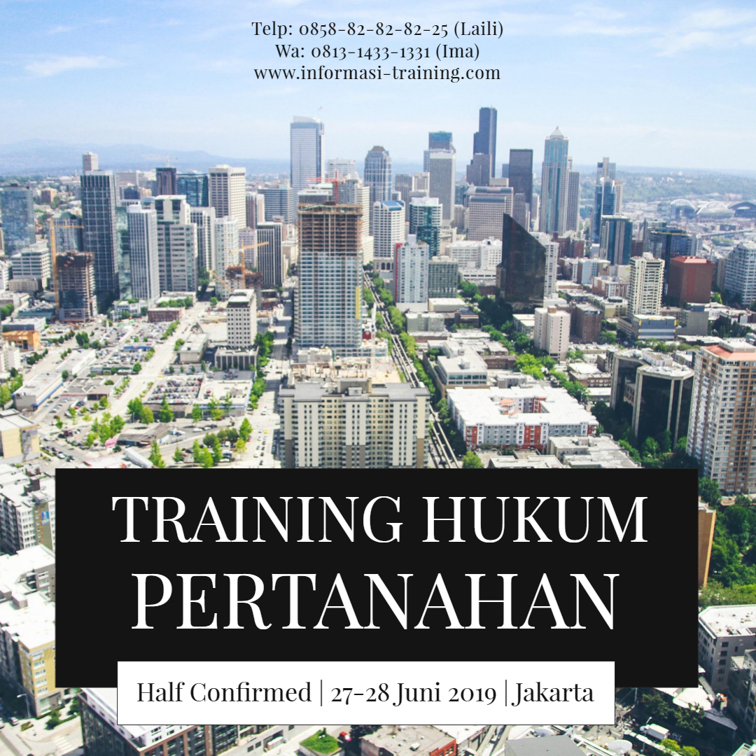 Training Hukum Pertanahan