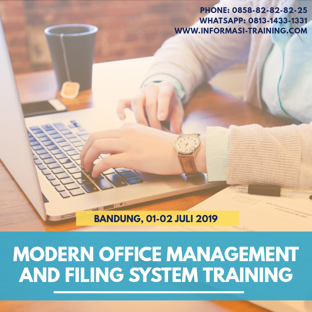 modern office administration & filing system