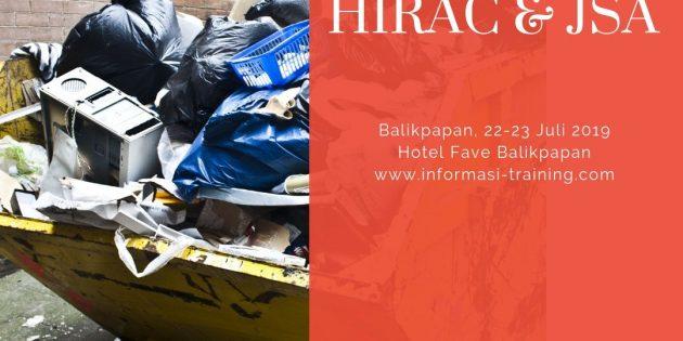 PENGENDALIAN BAHAYA DENGAN HIRAC & JSA – Pasti Jalan