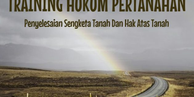 Hukum Pertanahan – ALMOST RUNNING