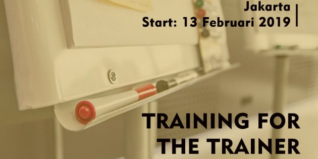 TRAINING FOR THE TRAINER – Pasti Jalan