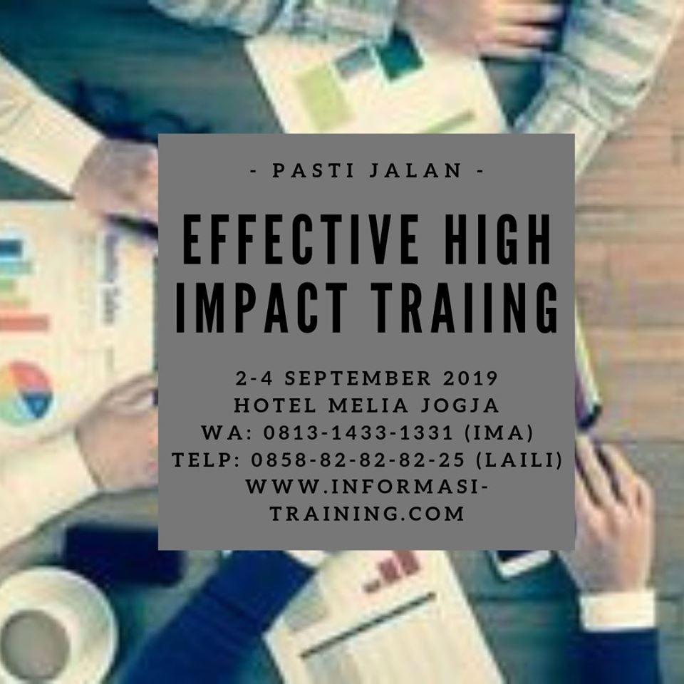 High Impact Training