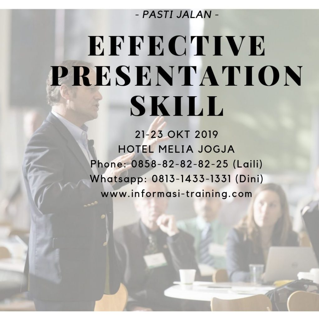 training presentasi