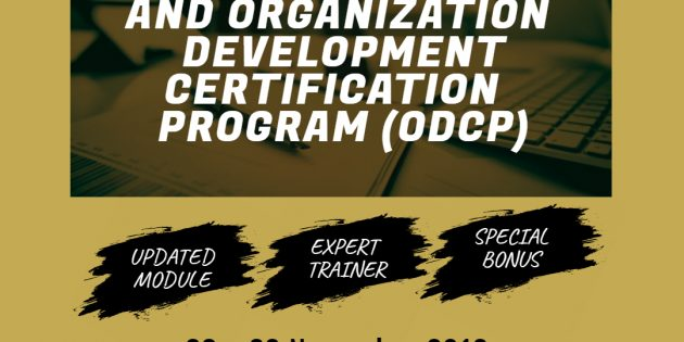 Organization Development Certificate Program (ODCP) – Available Online