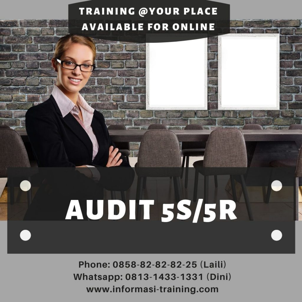 AUDIT 5S/ 5R - Available Online - Informasi Training