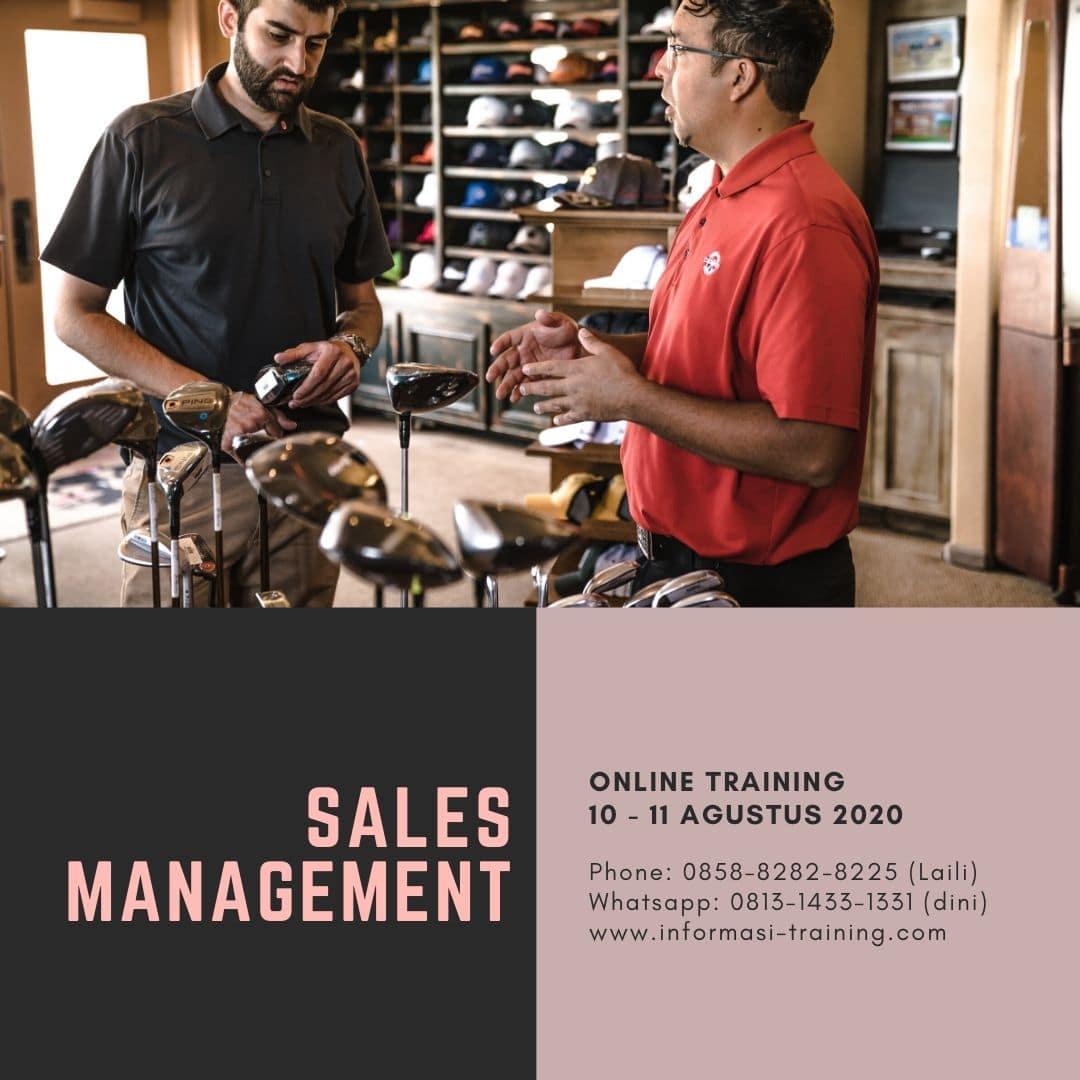 training sales